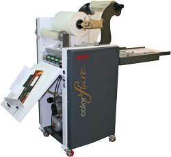 AZ Printz kiest Intec Colorflare lamineer- en foliedrukmachine