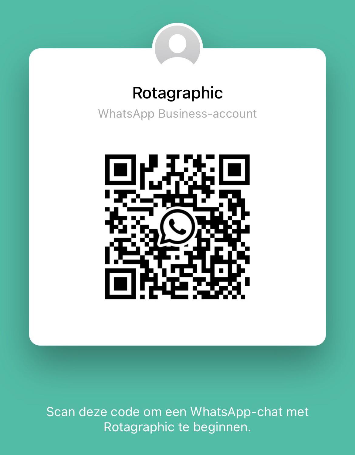 Whatsapp QR code laag